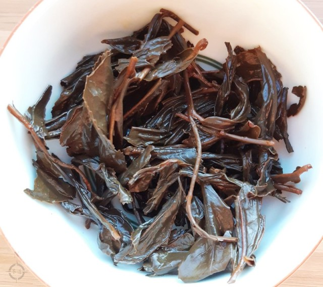 ying xian - used leaves