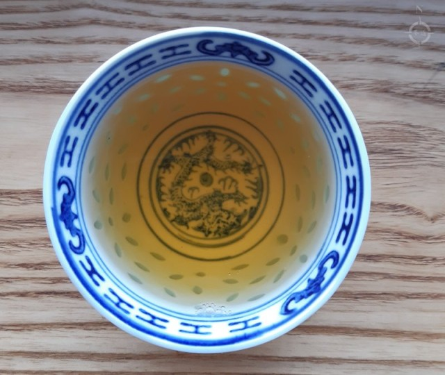 2017 fenqing gushu - a cup of