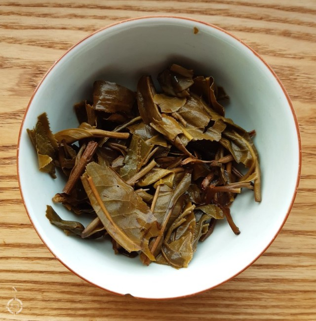 2017 fenqing gushu - used leaves