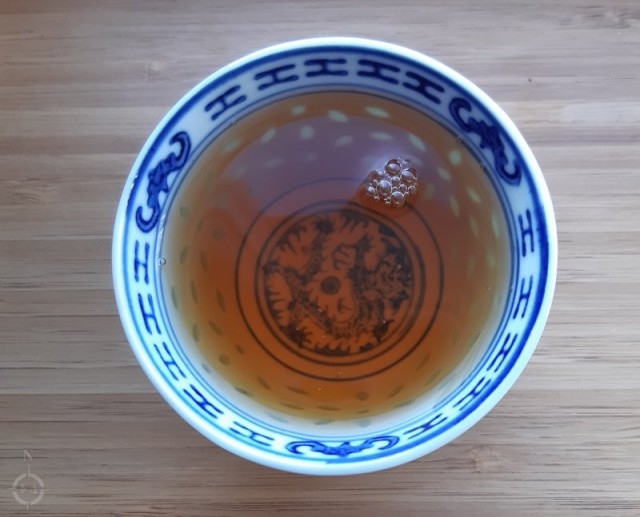Assam Oolong - a cup of