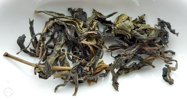 Taiwan Gaba Green Tea - dry leaf
