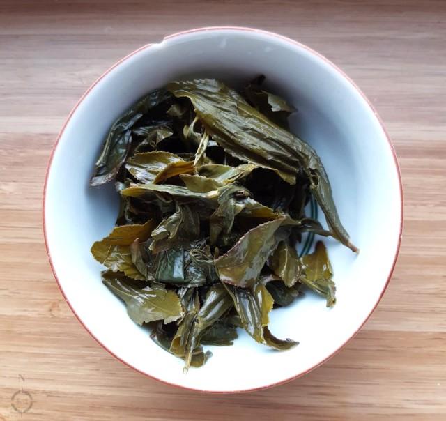 Wen Shan Bao Zhong - used leaves