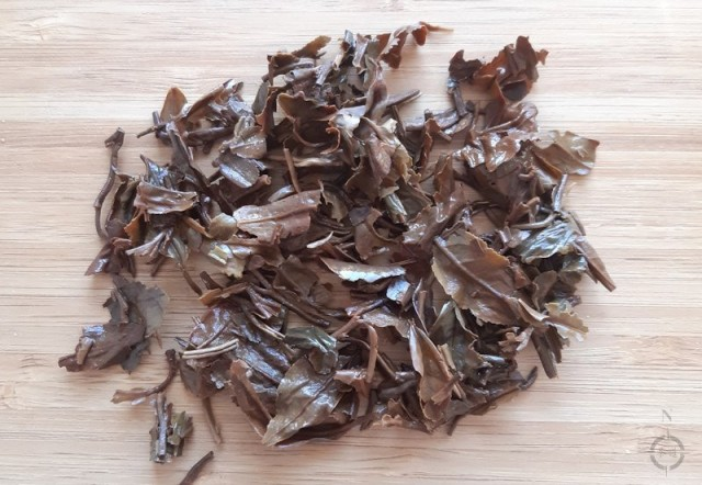 Oaks Muscatel Dew SF - used leaves