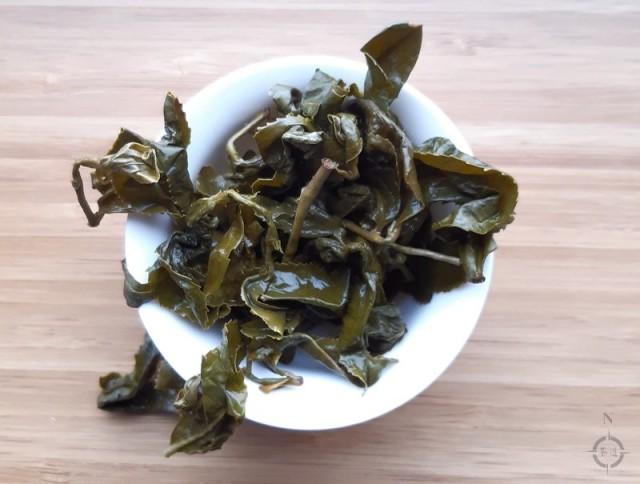 Moychay Alishan Qing Xiang Gaba - used leaves