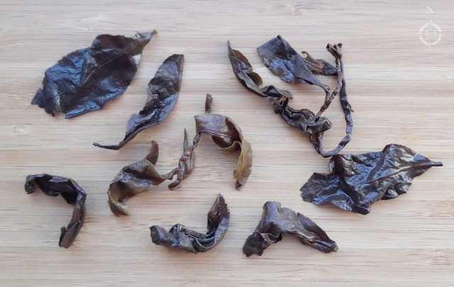 Moychay Lugu Dong Ding - used leaves