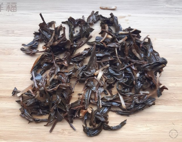 Moychay Taiwanese Earl Grey - used leaves