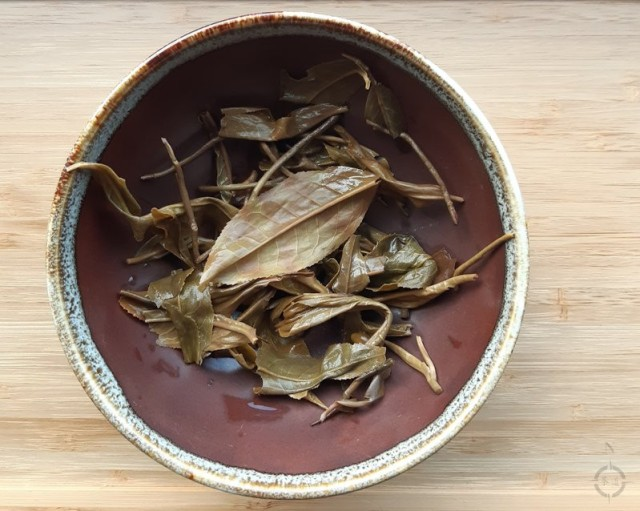 a new style - bowl and used leaves