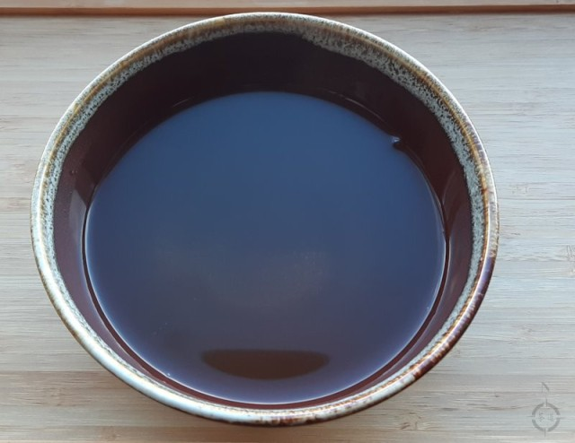 a new style - bowl with tea