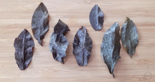 Moychay Mi Huan GABA - used leaves